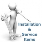INSTALLATION AND SERVICE