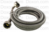 "HOSE,FILL 3/8"""" X 5' STAINLESS STEEL W/ANGLE"