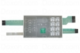 TOUCHPAD KEYPAD FOR HUEBSH WASHER HC BC/X/Y,ENGL WHT