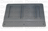 LID,SPLY,DISP,EPDM-40 DURO-GRAY