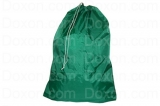 "NYLON LAUNDRY BAGS GRADE A HEAVY DUTY  30"" X 40"", GREEN, DOZEN"